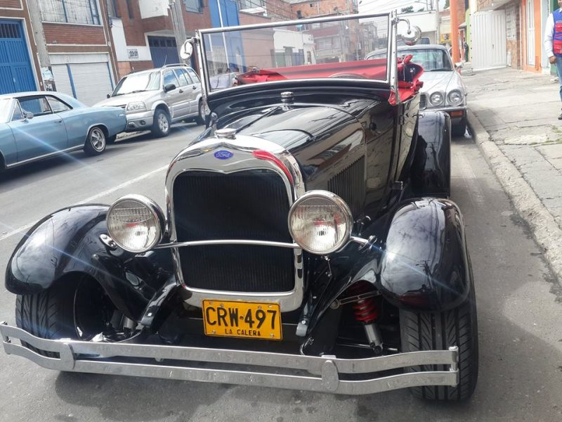 FORD MODELO 22A22-1929-PickUp-Convertible